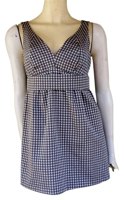 Preload https://item2.tradesy.com/images/the-limited-gray-white-circles-xs-blouse-size-2-xs-1746186-0-0.jpg?width=400&height=650