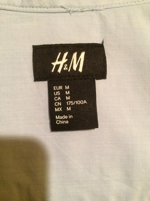 H&M Button Down Shirt Blue