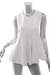 Lisa Perry A Line Top White