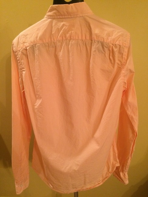 Gap Button Down Shirt Orange-peach