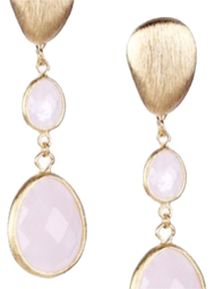 earrings peach com shop risis bead