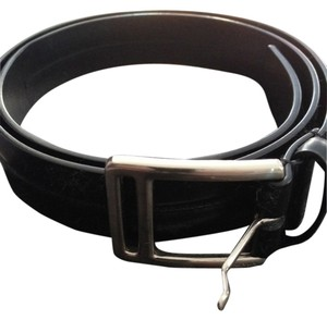 Prada Prada Black Leather Belt...Mint Condition!!!!