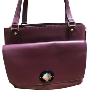 Kate Spade Tote in Mulled Wine