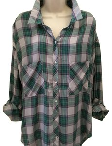 The Laundry Room Button Down Shirt Green