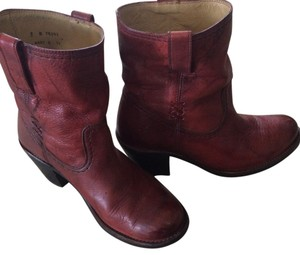 Frye Distressed red Boots