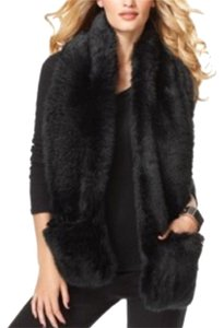 INC International Concepts Fur Faux Fur Vest