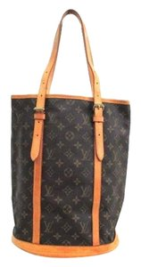 Louis Vuitton Bucket Gm Gm Tote in Brown