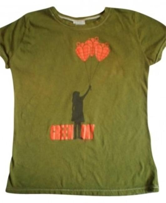 Item - Green Day Tee Shirt Size 8 (M)