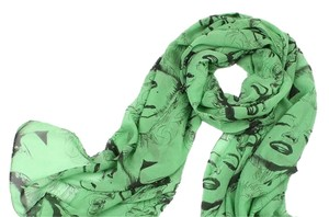 Other SOLD OUT Pinup Scarf ala Marilyn In Green and Black
