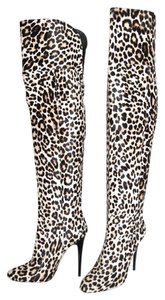 Jimmy Choo Wedge LEOPARD PRINT Boots