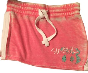 Sinful T Shirt Pink white