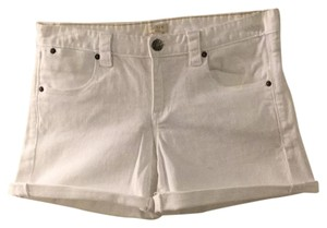 J.Crew Cuffed Shorts White