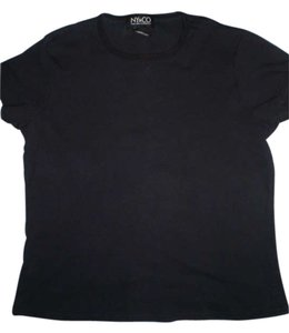 New York & Company T Shirt black