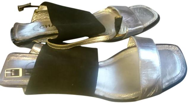 Item - Silver Made In France Sandals Size EU 40 (Approx. US 10) Regular (M, B)