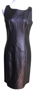 Erez Levy Leather Vintage Dress