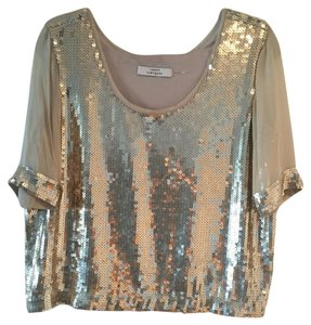 Robert Rodriguez Top Gold / Beige