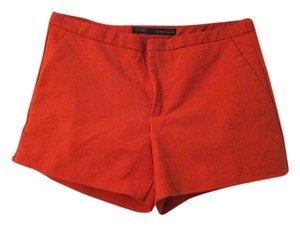 Zara Summer Basic Mini/Short Shorts Red