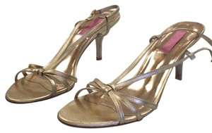 Lilly Pulitzer Gold Pumps