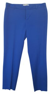 Gap Cropped Blue Capri/Cropped Pants Cobalt blue