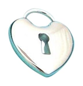 Tiffany & Co. Large heart lock in sterling silver
