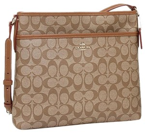 Coach Cross Body File Shoulder Bag
