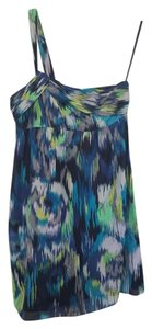 Ann Taylor LOFT short dress black, blue, green, yellow on Tradesy