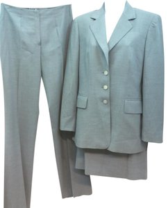 Escada ESCADA 3-PC. GREY WOOL PANT SKIRT SUIT 36 OR 8