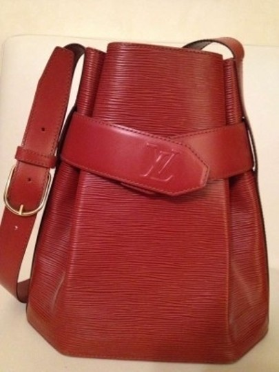 Louis Vuitton Vintage Leather Shoulder Bag