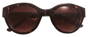 Ivanka Trump IT 046 in Havana Brown with Gold -tone ams Sunglasses