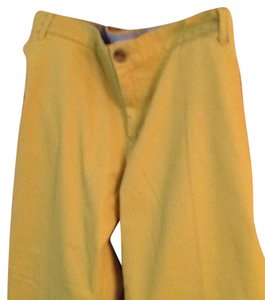 Banana Republic Capris Goldish green