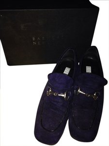 Barneys New York Blue suede Flats