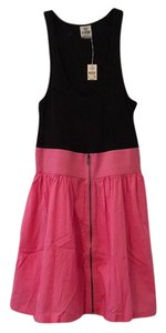 Victoria's Secret short dress Black and pink on Tradesy