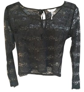 Kirra Blouse Krill Long Sleeve Lace Lace Blouse Lace Blouse Lace Top Black