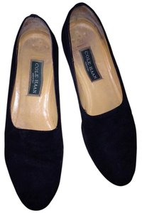 Cole Haan Smoking Slippers Caual Fun Comfortable Leather Bottoms Designer Quality Traditional Stylish Vintage Black Black suede Flats