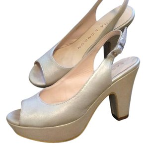 Sacha London Heels Pearl Pumps