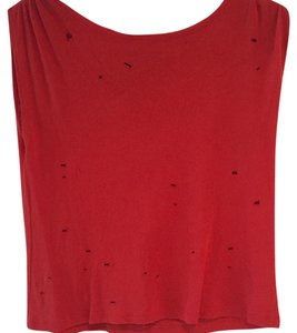 Alice + Olivia T Shirt Red