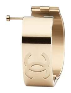 Chanel 2016 Golden Pin Clasp Cuff airline runway collection