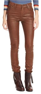 Lauren Jeans Company Skinny Pants Brown