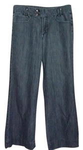 Jag Trouser/Wide Leg Jeans-Medium Wash