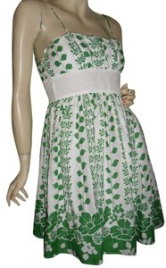 XOXO short dress green white on Tradesy