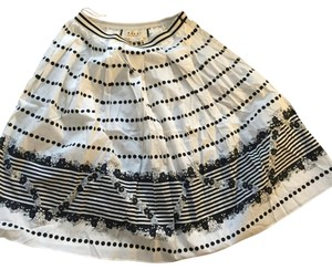 Marni Skirt White/Navy