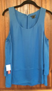 Theory Silk Size M Free Shipping Top