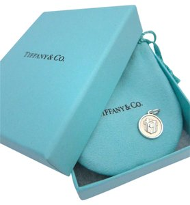 Tiffany & Co. Lexicon Blue Box Charm in Sterling Silver