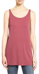 Eileen Fisher Top Red saffron