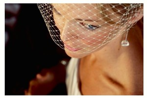 Independent Clothing Co. Simple Birdcage Veil