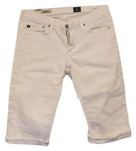 AG Adriano Goldschmied Bermuda Shorts White