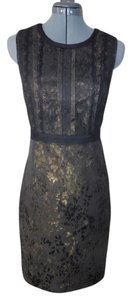 Elie Tahari Party Sheath Lace Dress