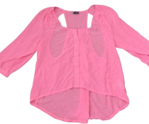 Sparkle & Fade Top Pink