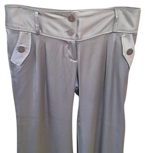 Young Fabulous & Broke Wide Leg Pants grey/silver