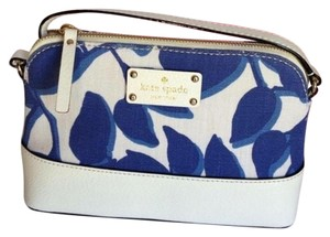 Kate Spade Nwt Floral Blue Cross Body Bag